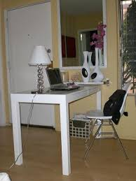 White Parsons Desk Live Creating Yourself Wish List West Elm Parsons Desk In