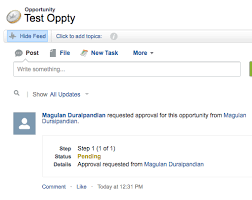 infallible techie approval post templates in salesforce