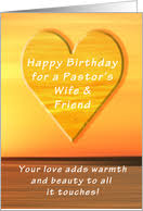 birthday cards for my pastor u0027s wife from greeting card universe