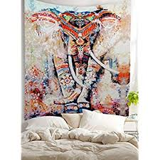 Bohemian Room Decor Amazon Com Oenbopo Wall Hanging Tapestry Indian Traditional