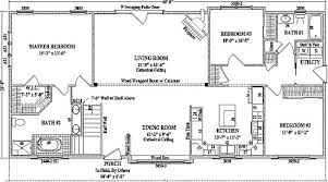 ranch house floor plans by wardcraft homes ranch floorplan