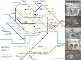 London Metro Map by Mapping London U0027s Underground Rivers Mapping London