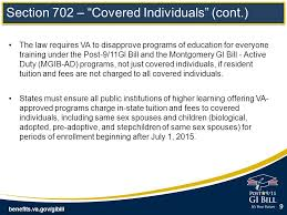 benefits va gov gibill section 702 choice act u2013 resident rate