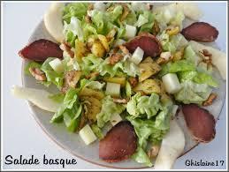 ghislaine cuisine salade basque ghislaine cuisine