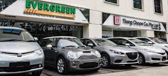 lexus car leasing singapore evergreen rent a car