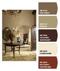 color palette for home interiors warm color palette chip it by sherwin williams home