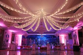 Purple Decorations Ceiling Draping Balloon Artistry