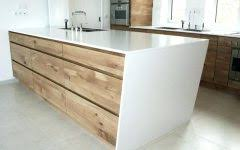 façade meuble cuisine bois brut design de maison