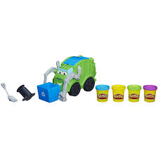 play doh trash tossin u0027 rowdy the garbage truck play vehicles