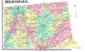 Map Of New York Counties by Early Maps Of Marshall Town Oneida County New York State