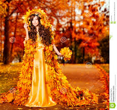 fall autumn woman autumn fashion portrait fall leaves model girl yellow park