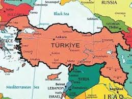 istanbul turkey map map distributed to istanbul schools redraws borders of turkey