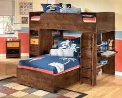 Boys RoomAshleyFurnitureAlexanderLoftBunkBedTopin - Kids bunk beds furniture
