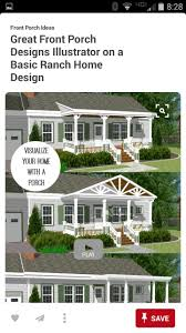 how to build a white front porch front porch pinterest front