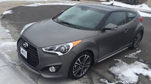 hyundai veloster turbo matte black brand new 2016 dual clutch turbo matte gray in denver co