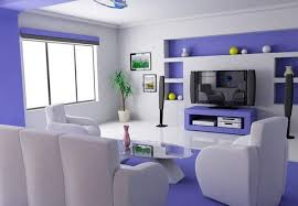 home decor paint colors home paint design modern purple living