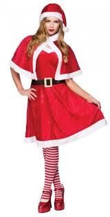 ladies little miss santa costume