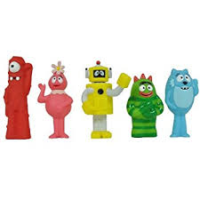 amazon yo gabba gabba multipack 5 figure toys u0026 games