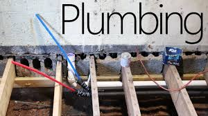12 000 house plumbing kitchen rough in 11 youtube