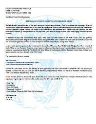 Authorization Letter For Bank Withdrawal In India Fake Un Official Caught In The Act