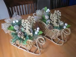 sleigh with deer sleigh flower arrangement christmas
