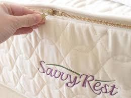 Savvy Rest Crib Mattress Organic Savvy Rest Serenity Mattress