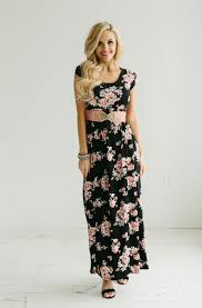 summer maxi dresses black floral maxi summer dress modest church dresses