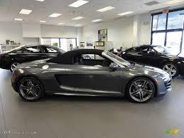 Audi R8 Grey - daytona grey pearl effect 2011 audi r8 spyder 5 2 fsi quattro