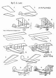 how to draw old fashioned airplanes thrifty scissors