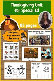 201 best thanksgiving and special education images on