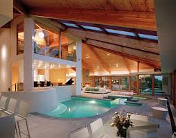 afforable simple design interior pool house ideas that has grey