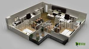 trendy design 1 modern floor plans 3d 3d floor plans modern plan