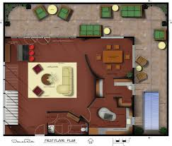 Hand Rendered Floor Plan by Portfolio By Nicole Elsholz At Coroflot Com
