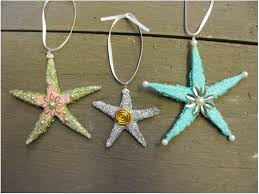 starfish decorations beachy starfish christmas ornaments