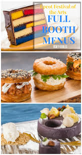 sneak peek full menus now available for epcot festival of the