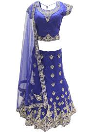 Royal Blue And Silver Wedding Buy Wedding Lengha Bridal Lengha Indian Wedding Lehenga