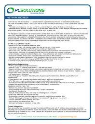 network engineer resume sample cover letter electrical engineer