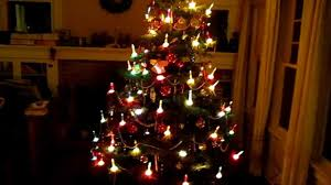 marvelous ideas bubbling tree lights vintage electric