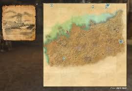 Bal Foyen Treasure Map Lost Treasure Map Coords Compasses Elder Scrolls Online Addons