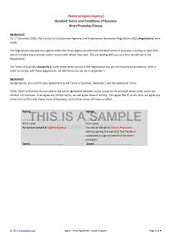 free non disclosure agreement template uk agent hirer promoter venue contract template