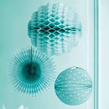 turquoise hanging decoration kit everything turquoise
