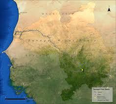 Senegal Map Senegal River Basin Tularosa Basin 2017