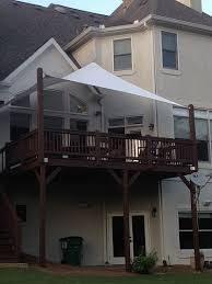 Outdoor Privacy Blinds For Decks Shade Sail Installation In Atlanta Area Privacy Shades Sail