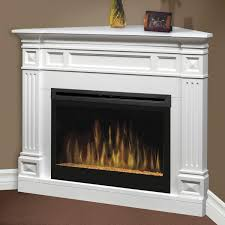 fresh modern electric fireplace in antique white 8864