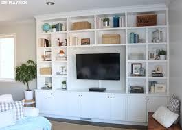 Caseys Family Room BuiltIn Reveal DIY Playbook - Family room built ins