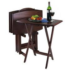 folding oversized wood tray table in espresso 11 best tv trays images on pinterest tv tables occasional tables