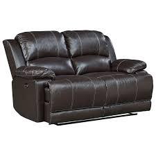 Power Reclining Loveseat Standard Furniture Audubon Power Reclining Leather Loveseat