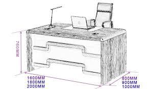 taille bureau dimension bureau professionnel petit secrétaire bois lepolyglotte