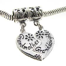 grandmother and granddaughter necklaces sterling silver grandmother granddaughter family