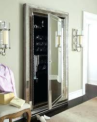 floor length mirror cabinet jewelry armoire over the door mirror cabinet full length mirror